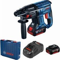 Bosch GBH 18 V-21 18v BRUSHLESS SDS-Plus Hammer 2x4Ah Batteries in Case