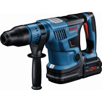 Bosch GBH 18V-36 C 18v Brushless BiTurbo SDS Max Hammer Drill (2x5.5Ah ProCore) in Carry Case