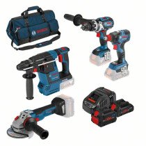 Bosch LBAG42 18V 4pc Kit (1x4.0 Ah ProCORE18V + 1x 8.0 Ah ProCORE18V Battery) in Bag