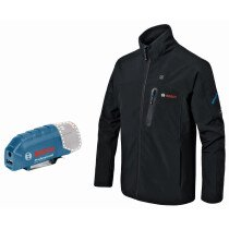 Bosch GHJ 12+18V XA 12v/18v Body Only Heated Jacket and 12V Adapter Only