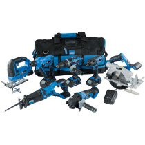 Draper 07025 *720VMK Storm Force®  20V 7 Machine Cordless Kit (12 Piece)