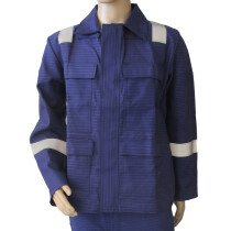 Wenaas 07210 Deltec Rigchief Universal Navy Flame Retardant Anti-Static Jacket