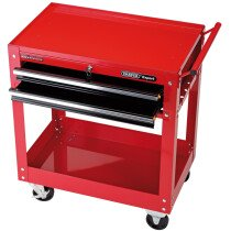 Draper 07635 TT2DB Expert 2 Level Tool Trolley with Two Drawers