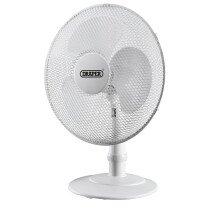 """Draper 09111 FAN16 Desk Fan 16"""" (400mm)"""