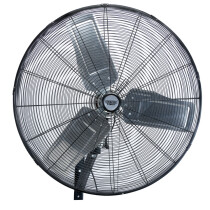 "Draper 09436 HVW30 Industrial Wall Mounted Fan 30"" (750mm)"