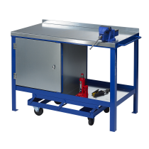 J.A.S. Engineering 1275SCP Steel Top Mobile Workbench