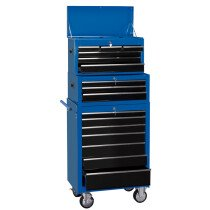 "Draper 11541 TC6D/TIC3D/RC7D 26"" Combination Roller Cabinet And Tool Chest (16 Drawer)"