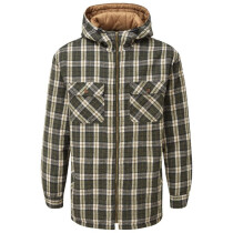 Fort 125 Penarth Padded Hoody Shirt - Available in Red or Green