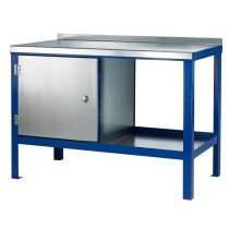 J.A.S. Engineering 1260SC Steel Top Static Workbench