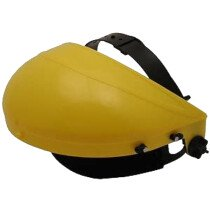 SWP 1440 Yellow Browguard & Harness for Visor Carrier Blue Eagle 1440