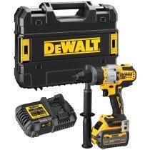 DeWalt DCD999T1 18V XR Flexvolt Advantage High Power Combi Drill With 1 x 6Ah Battery in TSTAK