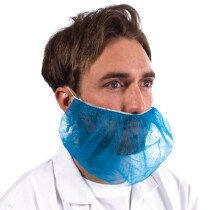 Non-Woven Beard Mask Blue (Packet of 100)