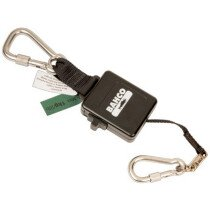 Bahco 3875-RL2 Retractable Lanyard for 1kg with Fixed Carabiners