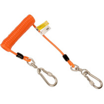Bahco 439000003 Coiled Lanyard for 3kg with Swivel Carabiners