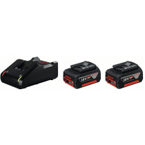 Bosch GBA 4.0Ah CoolPack (18 V) + GAL 18V-40 Quick Charger Set