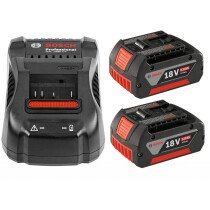 Bosch 18VGBA 5.0 18V Battery + AL 1880 CV Charger