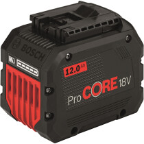 Bosch 18v GBA 18 V 12.0 Ah ProCORE18V Battery