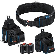 Bosch 1600A0265P Tool Belt Kit 93 (1x Belt 93, 1x GWT 2, 1x GWT 4, 2x ProClick Holder)