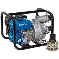 Draper 16128 PWP82T 4 Stroke Petrol Trash Water Pump (750L/Min)
