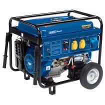 Draper 16143 PG68W 4 Stroke Engine Petrol Generator with Wheels (6.5kVA/6.0kW)