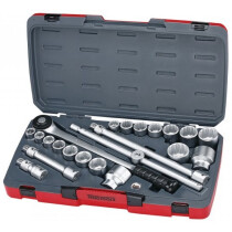 "Teng Tools T3422S Socket Set MM/AF 22 Piece 3/4"" Drive"