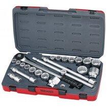 """Teng Tools T3422S Socket Set MM/AF 22 Piece 3/4"""" Drive"""