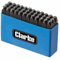 Clarke ET105 Letter and Number Punch Set 4mm 1700125
