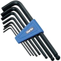 Clarke PRO54 7 Piece Metric Ball End Hex Key Set 1700454
