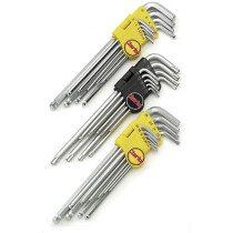 Clarke PRO138 29 Piece Extra Long Hex and Torx Key Set 1700538