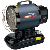 Draper 17111 DSH-IR-B Jet Force, Infrared Diesel/Kerosene Space Heater (60,000 BTU/17kW)