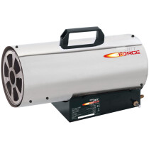 Draper 17682 PSH50SS Jet Force, Stainless Steel Propane Space Heater (50,000 BTU/15kW)