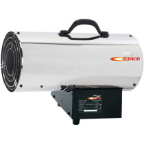 Draper 17685 PSH125SS Jet Force, Stainless Steel Propane Space Heater (125,000 BTU/37kW)