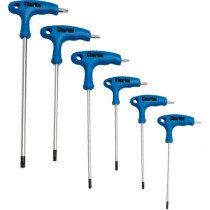 Clarke CHT912 6 Piece T Handle Torx® Driver Set 1801912