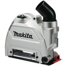 Makita 191G06-2 Dust Collecting Wheel Guard 125mm - Accessory for 115mm & 125mm Angle Grinders GA4550/GA4550R GA5050/GA5050R