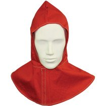 Lawson-HIS 1921 Red Proban Hood With Velcro Fastening Flame Retardant