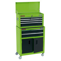 "Draper 19566 RCTC6/G 24"" Combined Roller Cabinet And Tool Chest (6 Drawer)"