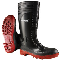 Dunlop A252931 Acifort Ribbed SB P A FO SRA Full Wellington Safety Boot (Ex 8808)