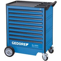 Gedore 2003562 Tool Trolley with 9 Drawers 2005 0810