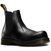 Dr. Martens 2029 Icon Black Leather Dealer SB SRA Safety Boot