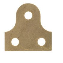 Specialist 21788 Glass Plates Round Brass Plated 38mm Packet of 4