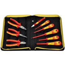 CK T5953 Electrician's VDE Pliers and Screwdrivers Kit (PZ)