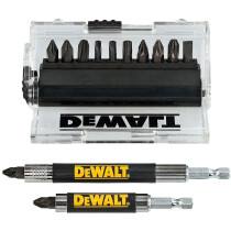 Dewalt DT70512T-QZ 14pce Impact Torsion Screwdriving Set with 2 Magnetic Drive Guides