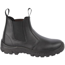Himalayan 2602 Black Leather Safety Dealer Boot S1P SRC