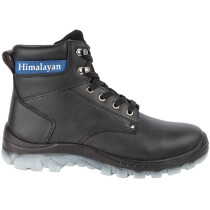 Himalayan 2600 Black Leather Safety Ankle Boot S1P SRC