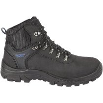 Himalayan 2601 Black Leather Safety Hiker Boot S1P SRC