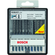 Bosch 2607010541 Jigsaw blades 10 blade assortment for metal