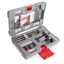 Bosch 2608P00233 Premium Drilling and Screwdriving Accessory Set 49 Pieces