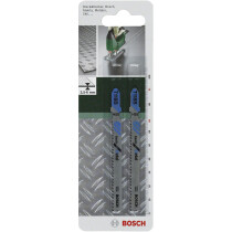 Bosch T118B Pack of 5 Jigsaw Blades Basic for Metals