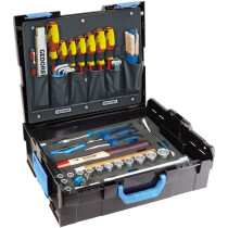 Gedore 2658194 58 Piece Sortimo Mechanics Tool Kit and L-Boxx 1100-01