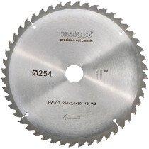 Metabo 628061000 254 x 30mm 48 Tooth (Negative rake) Circular Saw Blade